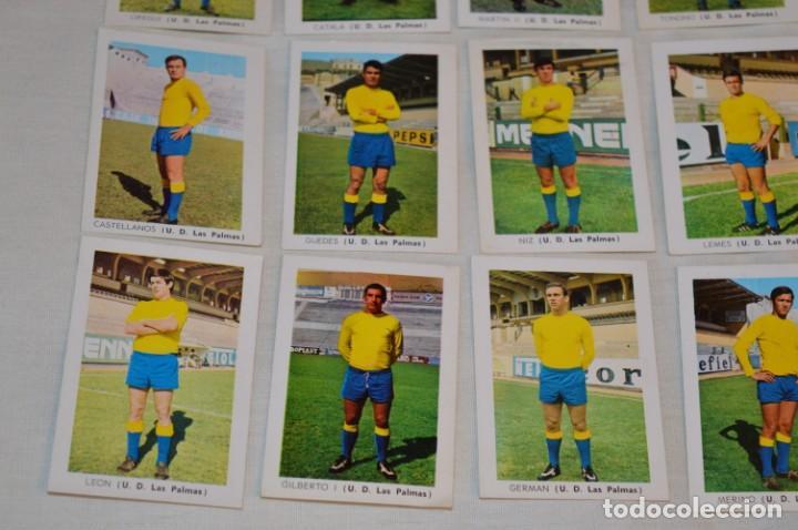 Coleccionismo deportivo: UD LAS PALMAS -16 CROMOS - LIGA 70-71 - CAMPEONATO de LIGA 1970 / 1971 - FHER / DISGRA ¡Buen estado! - Foto 4 - 184613701