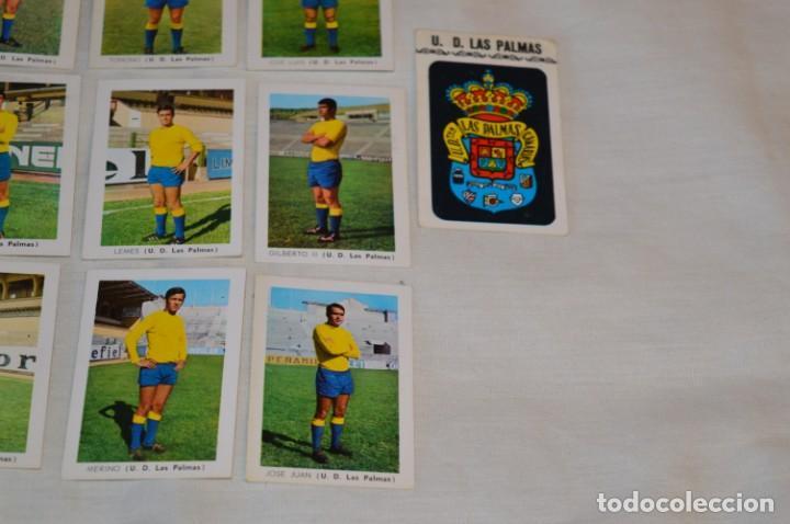 Coleccionismo deportivo: UD LAS PALMAS -16 CROMOS - LIGA 70-71 - CAMPEONATO de LIGA 1970 / 1971 - FHER / DISGRA ¡Buen estado! - Foto 5 - 184613701