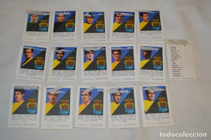 Coleccionismo deportivo: UD LAS PALMAS -16 CROMOS - LIGA 70-71 - CAMPEONATO de LIGA 1970 / 1971 - FHER / DISGRA ¡Buen estado! - Foto 6 - 184613701
