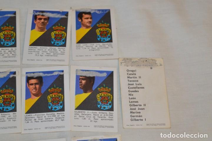 Coleccionismo deportivo: UD LAS PALMAS -16 CROMOS - LIGA 70-71 - CAMPEONATO de LIGA 1970 / 1971 - FHER / DISGRA ¡Buen estado! - Foto 8 - 184613701