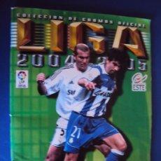 Coleccionismo deportivo: (F-191107)ALBUM CROMOS LIGA 2004-2005 - EDITORIAL ESTE. Lote 184715302