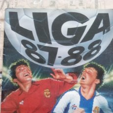 Coleccionismo deportivo: ALBUM DE FUTBOL LIGA 87/88. Lote 184912943