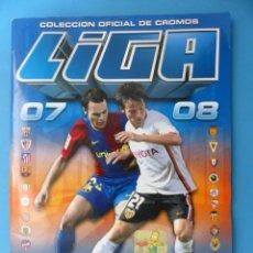 Coleccionismo deportivo: ALBUM CROMOS - LIGA 2007-2008 07-08 - ED. ESTE - VER DESCRIPCION Y FOTOS. Lote 185958381