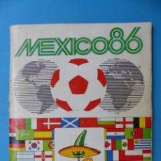 Coleccionismo deportivo: ALBUM CROMOS - FIFA WORLD CUP MUNDIAL FUTBOL MEXICO 1986 - PANINI - VER DESCRIPCION Y FOTOS. Lote 185962133