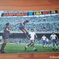 Coleccionismo deportivo: ALBUM ED FHER 73 74 CROMO FUTBOL LIGA 1973 1974 TEMPORADA - VACIO CROMOS DESPEGADOS. Lote 186054160