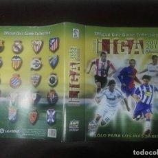 Coleccionismo deportivo: PORTADA ORIGINAL NUEVA QUIZ MUNDICROMO FICHAS LIGA 2009 - 2010 09 - 10. Lote 263097110