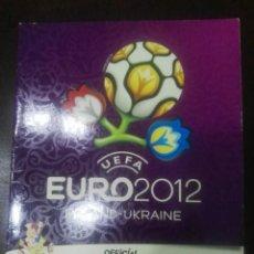 Coleccionismo deportivo: ALBUM CROMOS VACÍO NUEVO PLANCHA EURO 2012. Lote 186227758