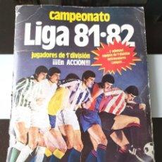 Coleccionismo deportivo: ÁLBUM CROMOS FÚTBOL LIGA ESTE 81 82 1ª DIVISIÓN CON 365 CROMOS 1981 1982. Lote 186367895