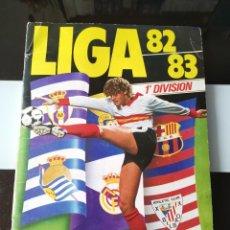 Coleccionismo deportivo: ÁLBUM CROMOS FÚTBOL LIGA ESTE 82 83 1ª DIVISIÓN CON 356 CROMOS 1982 1983. Lote 186368003