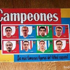 Coleccionismo deportivo: CAMPEONES 1959, 58 - 59 - EDITORIAL BRUGUERA VACIO. Lote 186388325