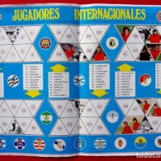 Coleccionismo deportivo: POSTER CENTRAL INCOMPLETO CAMPEONATO DE LIGA 1972 - 73. FHER. 72 - 73.. Lote 186420080