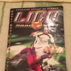 Coleccionismo deportivo: ALBUM DE FUTBOL LIGA 2006-2007 , CASI COMPLETO, LEER. Lote 186445556