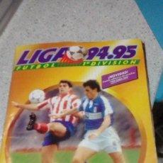 Coleccionismo deportivo: ALBUM FUTBOL LIGA 1994 - 95 EDICIONES ESTE SOLO LE FALTAN 2 FICHAJES Y TIENE CASI TODOS LOS DOBLES. Lote 188678357