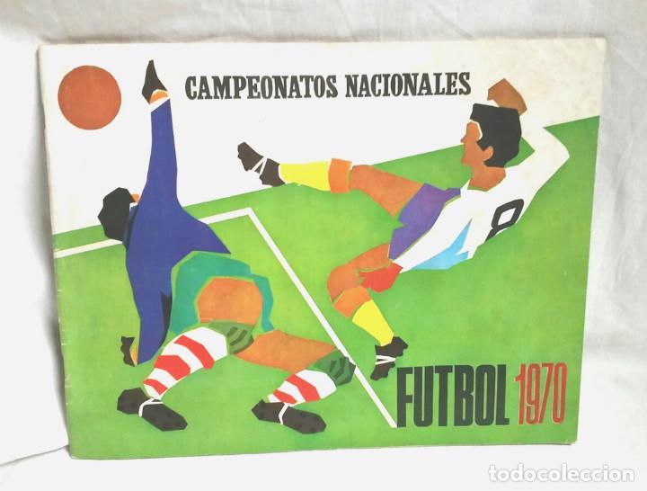 CAMPEONATOS NACIONALES FUTBOL 1970, EDITORIAL RUIZ ROMERO (Coleccionismo Deportivo - Álbumes y Cromos de Deportes - Álbumes de Fútbol Incompletos)