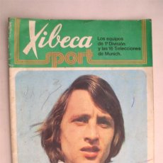 Coleccionismo deportivo: XIBECA SPORT LOS EQUIPOS DE 1ª DIVISIÓN Y LAS 16 SELECCIONES DE MUNICH.. Lote 189192576