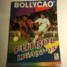 Coleccionismo deportivo: ALBUM BOLLYCAO-FUTBOL LIGA 97-98-LE FALTAN CROMOS. Lote 189370165