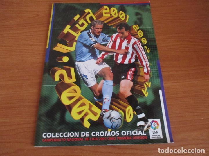 ALBUM CROMOS COLECCIONES ESTE LIGA 2002 (2001 - 2002) 2001-02 , CON 243 CROMOS (Coleccionismo Deportivo - Álbumes y Cromos de Deportes - Álbumes de Fútbol Incompletos)