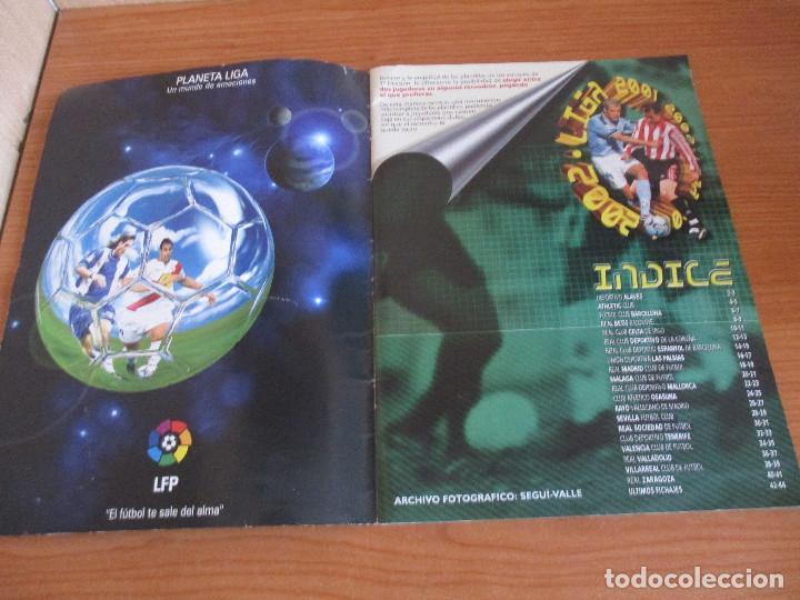 Coleccionismo deportivo: ALBUM CROMOS COLECCIONES ESTE LIGA 2002 (2001 - 2002) 2001-02 , CON 243 CROMOS - Foto 2 - 189388530