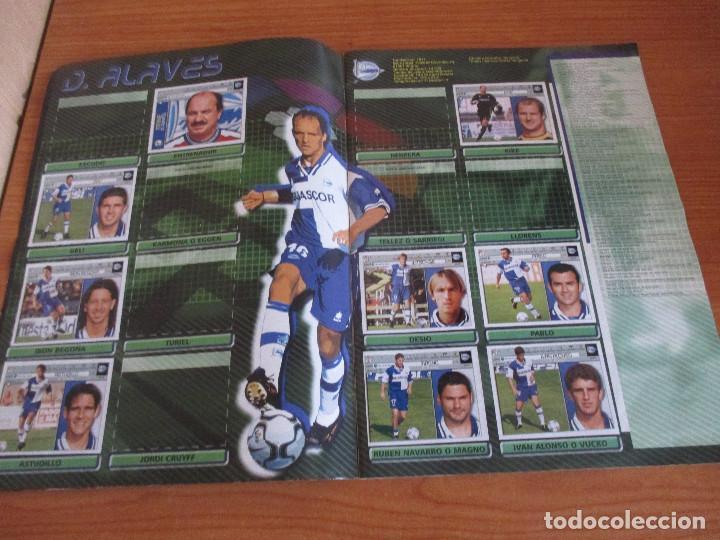 Coleccionismo deportivo: ALBUM CROMOS COLECCIONES ESTE LIGA 2002 (2001 - 2002) 2001-02 , CON 243 CROMOS - Foto 3 - 189388530