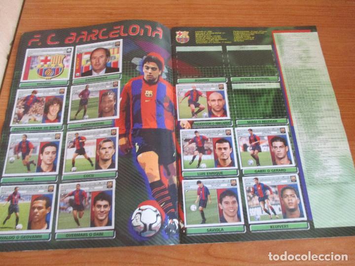 Coleccionismo deportivo: ALBUM CROMOS COLECCIONES ESTE LIGA 2002 (2001 - 2002) 2001-02 , CON 243 CROMOS - Foto 5 - 189388530