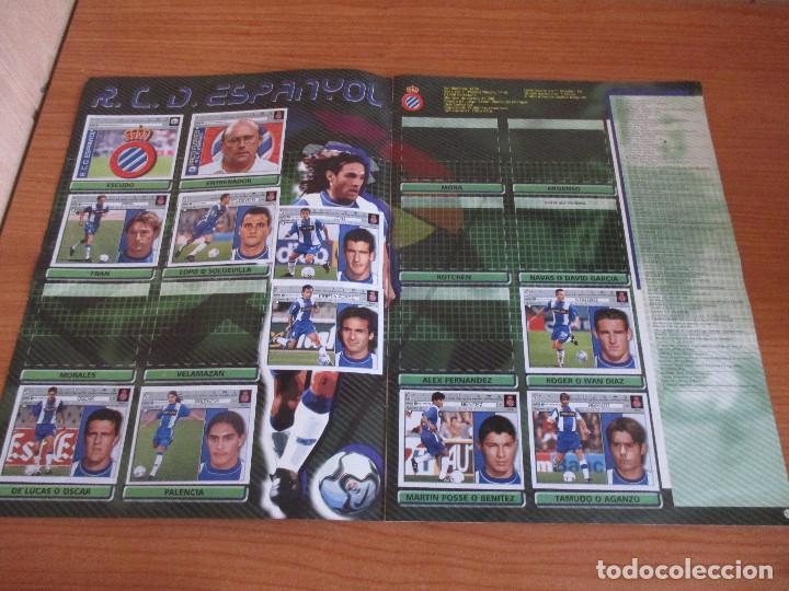 Coleccionismo deportivo: ALBUM CROMOS COLECCIONES ESTE LIGA 2002 (2001 - 2002) 2001-02 , CON 243 CROMOS - Foto 9 - 189388530