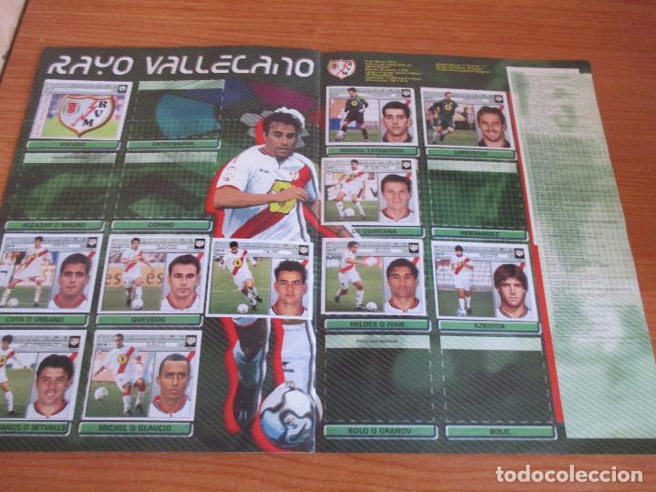 Coleccionismo deportivo: ALBUM CROMOS COLECCIONES ESTE LIGA 2002 (2001 - 2002) 2001-02 , CON 243 CROMOS - Foto 15 - 189388530