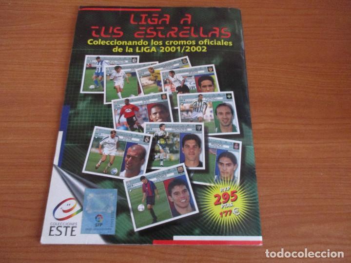 Coleccionismo deportivo: ALBUM CROMOS COLECCIONES ESTE LIGA 2002 (2001 - 2002) 2001-02 , CON 243 CROMOS - Foto 25 - 189388530