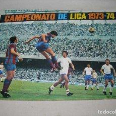 Coleccionismo deportivo: ÁLBUM DE FÚTBOL CAMPEONATO DE LIGA 1973-74 DE DISGRA / FHER MUY COMPLETO - INCLUYE PÓSTER - 73 74. Lote 189442231
