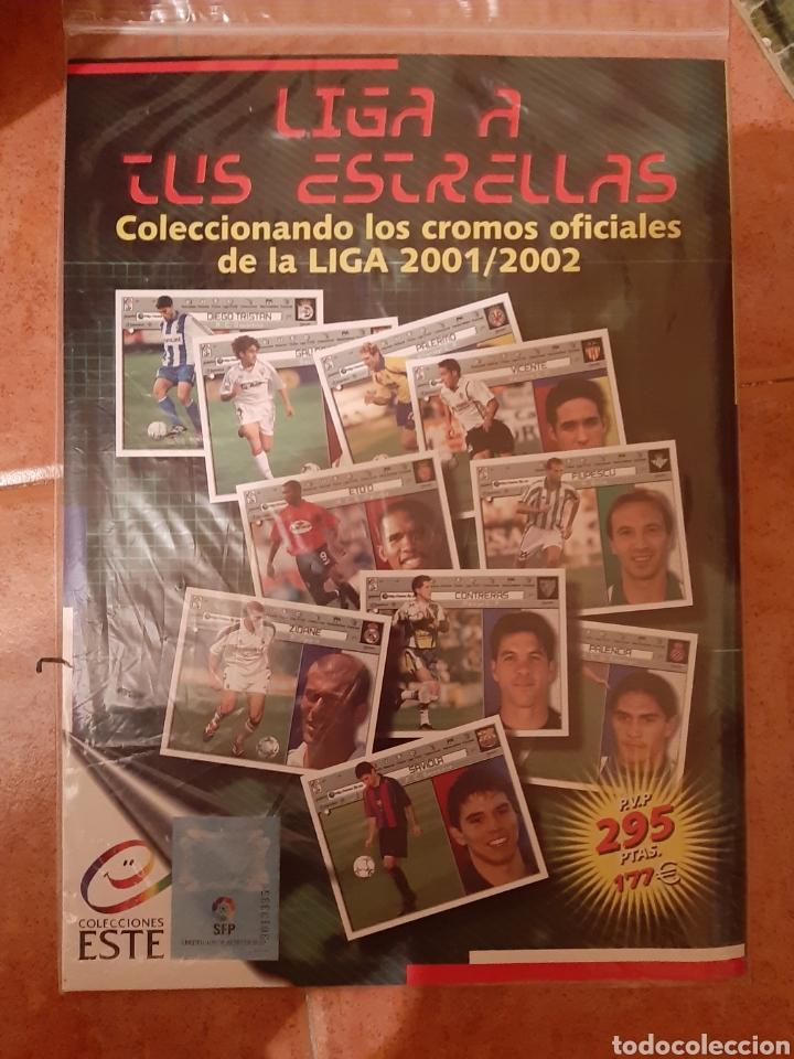 Coleccionismo deportivo: EDICIONES ESTE 2001 2002 ÁLBUM PLANCHA VACIO ALBUN 01 02 NUEVO - Foto 2 - 183645193