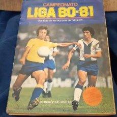 Coleccionismo deportivo: ED. ESTE ALBUM LIGA 80 81 BASTANTE COMPLETO. LEER DESCRIPCIÓN . Lote 190593568