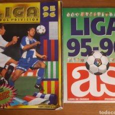 Coleccionismo deportivo: ALBUM LIGA ESTE 95-96 A FALTA DE 13 CASILLAS. REGALO LIGA 95-96 DIARIO AS INCOMPLETO. Lote 190616805