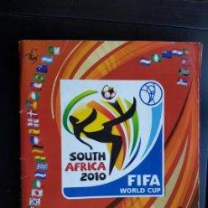 Coleccionismo deportivo: ÁLBUM CROMOS MUNDIAL SOUTH AFRICA 2010 85% COMPLETO ORIGINAL + 558 PANINI. Lote 190738190