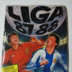 Coleccionismo deportivo: ALBUM DE CROMOS LIGA 87-88 - INCOMPLETO .FALTAN 90 CROMOS Y 8 ÚLTIMOS FICHAJES.. Lote 190820468