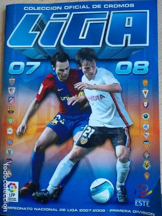 EDICIONES ESTE 2007-08 TODAS LAS FOTOS EN EL INTERIOR (Coleccionismo Deportivo - Álbumes y Cromos de Deportes - Álbumes de Fútbol Incompletos)