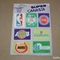 Coleccionismo deportivo: DIFICIL ALBUM ORIGINAL: SUPER CANASTA (NBA) CON MICHAEL JORDAN, MAGIC JOHNSON, LARRY BIRD - AÑO 1987. Lote 191404570