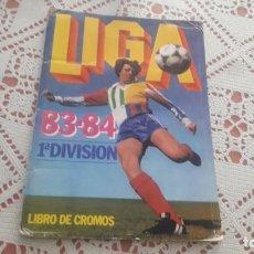 Coleccionismo deportivo: ÁLBUM DE LA LIGA 1983-84 DE ESTE ,CASI VACIO. Lote 191465883
