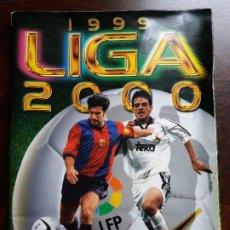 Coleccionismo deportivo: ÁLBUM FÚTBOL LIGA 1999-2000. COLECCIONES ESTE. INCOMPLETO.. Lote 191466828