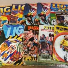 Coleccionismo deportivo: 10 CARÁTULAS DE ÁLBUMES AÑOS 70 Y 80, 9 DE ESTE + OTRA. VER FOTOS.. Lote 191503418