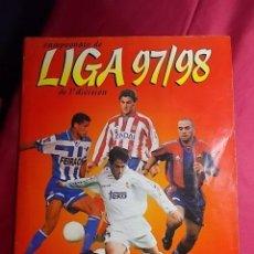 Coleccionismo deportivo: ÁLBUM DE CROMOS. LIGA 97-98. PANINI . INCOMPLETO. CONTIENE 265 CROMOS. Lote 191536816