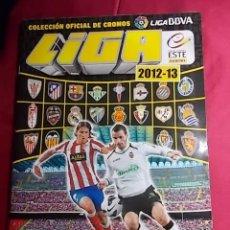 Coleccionismo deportivo: ÁLBUM DE CROMOS. LIGA 2012-2013.ESTE PANINI. INCOMPLETO. CONTIENE 506 CROMOS. Lote 191542107