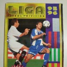 Coleccionismo deportivo: ÁLBUM LIGA EDICIONES ESTE 95/96 INCOMPLETO 216 CROMOS, CASI PLANCHA. Lote 191582662