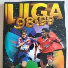 Coleccionismo deportivo: ÁLBUM LIGA EDICIONES ESTE 98/99 CON 452 CROMOS CASI PLANCHA. Lote 191586242