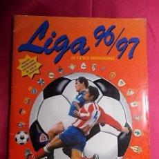 Coleccionismo deportivo: ÁLBUM DE CROMOS. LIGA 96/97 DE FUTBOL PROFESIONAL. PANINI. INCOMPLETO. CONTIENE 331 CROMOS. Lote 191589282