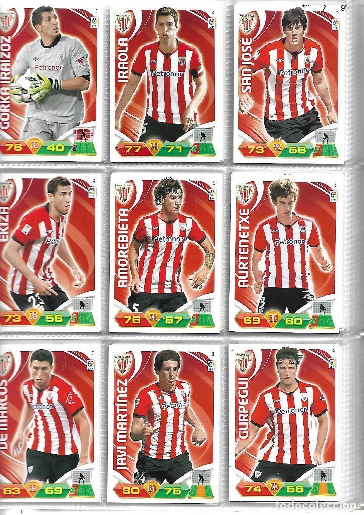 Coleccionismo deportivo: ALBUM CON 434 CARTAS ADRENALYN 2011-12 TRADING CARD GAME PANINI MUY COMPLETO - Foto 2 - 45197402