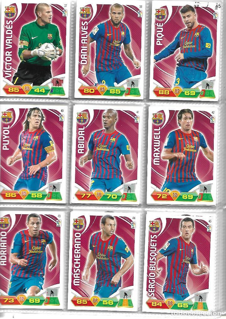 Coleccionismo deportivo: ALBUM CON 434 CARTAS ADRENALYN 2011-12 TRADING CARD GAME PANINI MUY COMPLETO - Foto 4 - 45197402