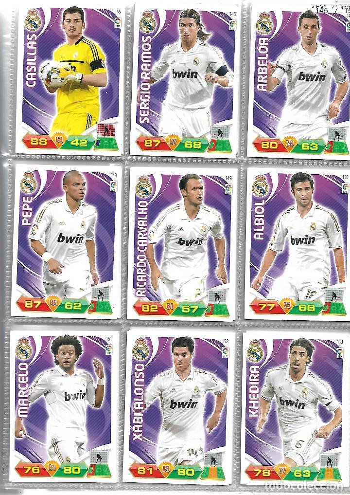 Coleccionismo deportivo: ALBUM CON 434 CARTAS ADRENALYN 2011-12 TRADING CARD GAME PANINI MUY COMPLETO - Foto 5 - 45197402