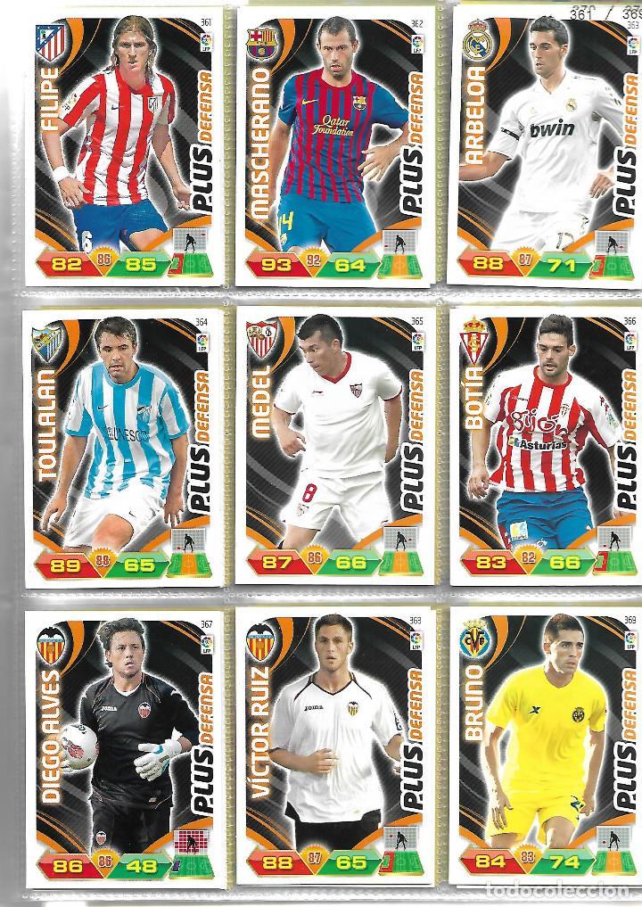 Coleccionismo deportivo: ALBUM CON 434 CARTAS ADRENALYN 2011-12 TRADING CARD GAME PANINI MUY COMPLETO - Foto 6 - 45197402