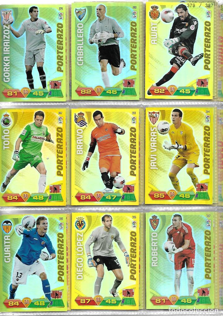Coleccionismo deportivo: ALBUM CON 434 CARTAS ADRENALYN 2011-12 TRADING CARD GAME PANINI MUY COMPLETO - Foto 7 - 45197402