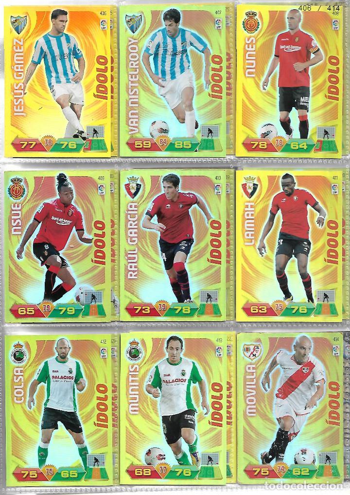 Coleccionismo deportivo: ALBUM CON 434 CARTAS ADRENALYN 2011-12 TRADING CARD GAME PANINI MUY COMPLETO - Foto 8 - 45197402