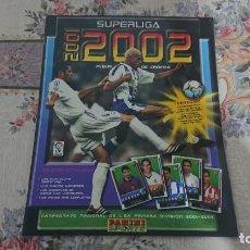 Coleccionismo deportivo: PANINI SUPERLIGA 2002 ALBUM VACIO PLANCHA. Lote 191807251